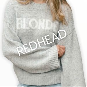 Brunette The Label Chunky Knit Sweater